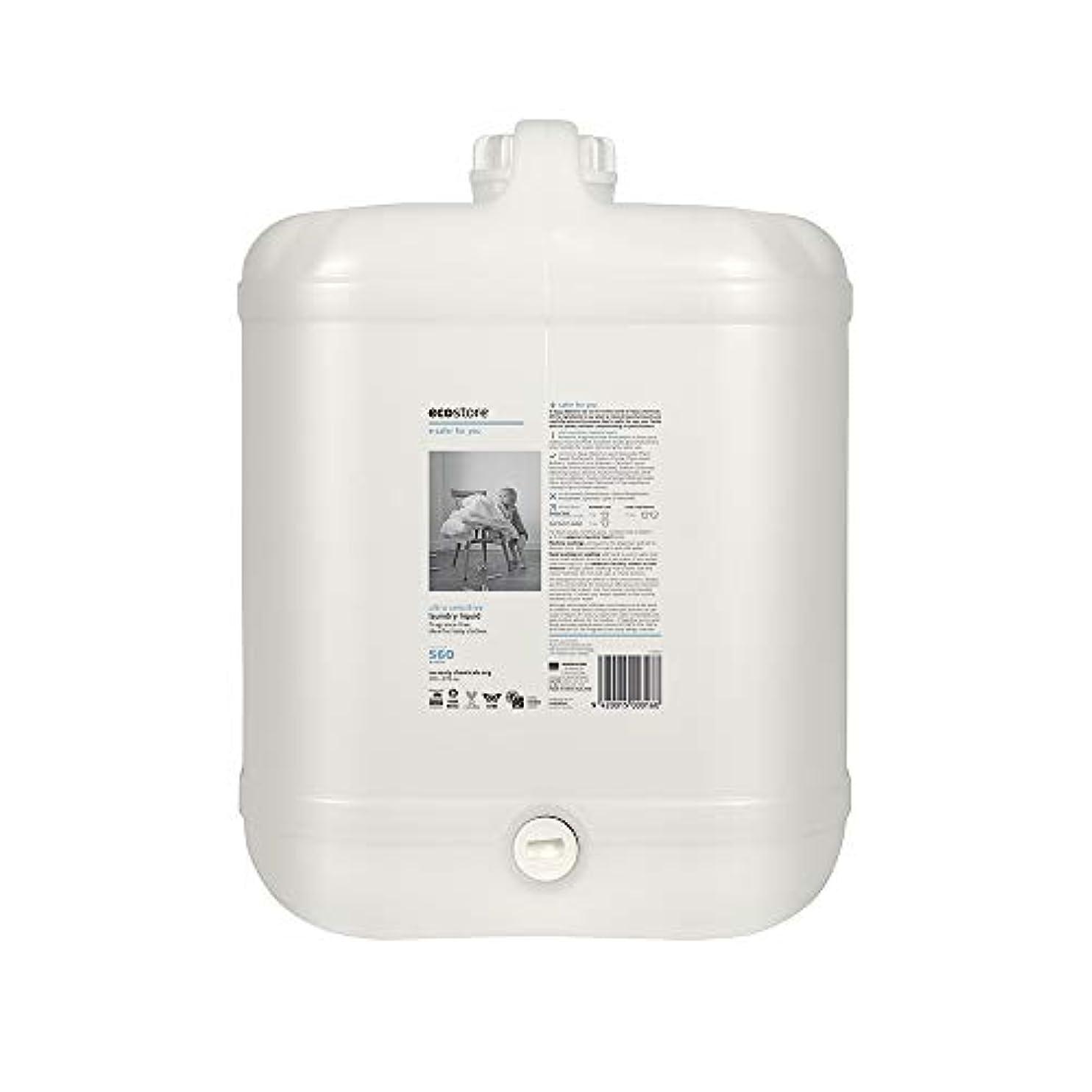 差し引く踏み台石膏ecostore(エコストア) ランドリーリキッド <無香料> バルク 20L