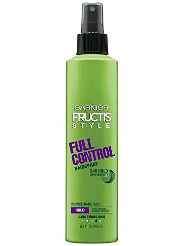 アサーに変わる操作可能Garnier Fructis Style Full Control Non Aero Hairspray 250 ml (並行輸入品)