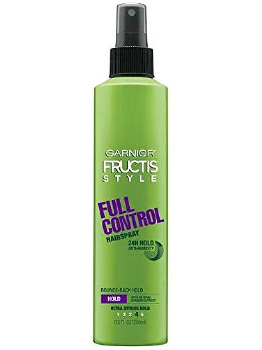保持マカダムクスコGarnier Fructis Style Full Control Non Aero Hairspray 250 ml (並行輸入品)