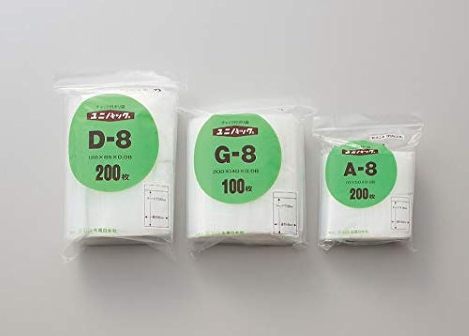 ユニパック K-8 100枚入 単位:100枚入/袋