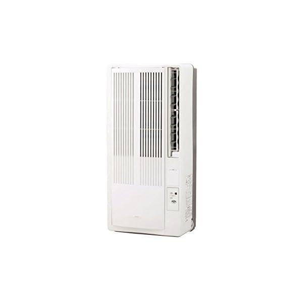 コイズミ 窓用エアコン ホワイト KAW-1672/Wの商品画像