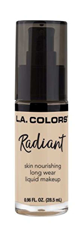 石油回想パイプL.A. COLORS Radiant Liquid Makeup - Vanilla (並行輸入品)