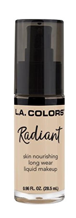 消毒剤唇順番L.A. COLORS Radiant Liquid Makeup - Vanilla (並行輸入品)
