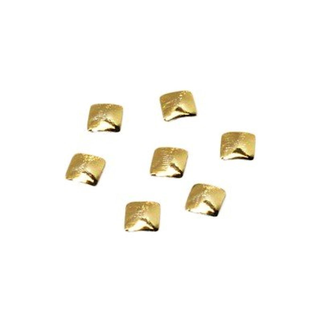 叙情的なニッケルひどくクレア スクエアスタッズ SS GOL ゴールド 0.36g