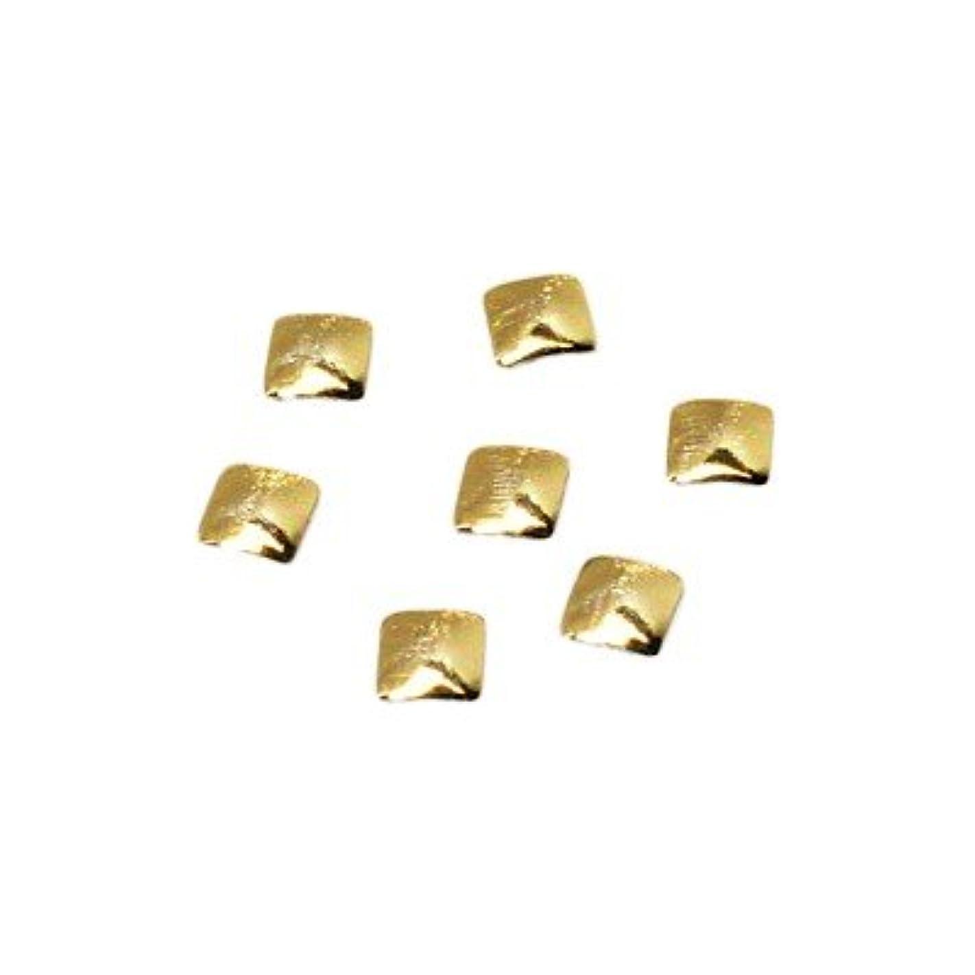 海嶺シンプルな因子クレア スクエアスタッズ SS GOL ゴールド 0.36g