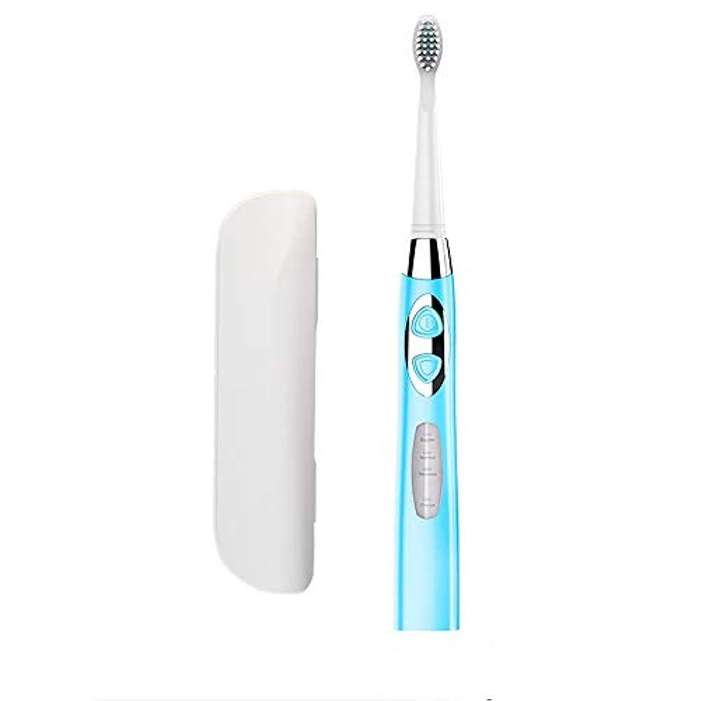 自我冷蔵庫任命するJia Xing 白い電動歯ブラシの頭部の柔らかいブラシを白くする大人の再充電可能な電動歯ブラシの家の音波 電動歯ブラシ