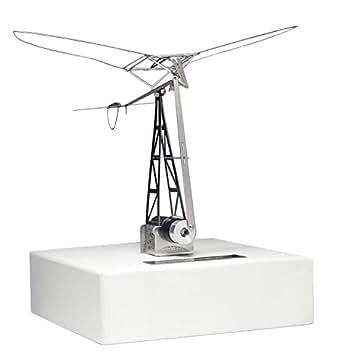 エアロベース 模型航空シリーズ 翼が羽ばたく仕組み 羽ばたき飛行機 (モーター付き) モーター動力金属製精密キット 翼幅128ミリ F003