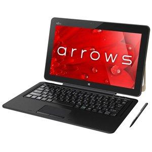 富士通 12.5型 タブレットパソコンarrows Tab RH77/B1(Office Home&Business Premium プラス Office 365...