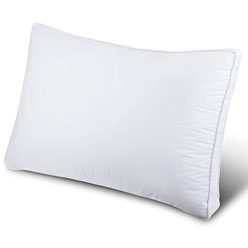 SUKOZE 枕 まくら 安眠 肩こり対策 人気 良い通気性 快眠枕 健康枕 高級ホテル仕様 高反発枕 横向き対応 丸洗い可能 高さ調節可能 いびき防止 立体構造43x63cm 家族のプレゼント ホワイト