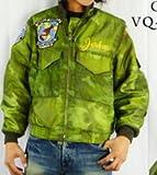 (バズリクソンズ)BUZZ RICKSON'S フライトジャケット「WEP」「WORLD WATCHERS」 38 01オリーブ
