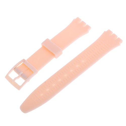 [해외]SONONIA 고품질 시계 실리콘 17mm 밴드 시계 방수 수리 부품 장식 호환성 여러 가지 빛깔의 선택/SONONIA high quality wrist watch silicone 17mm band watch waterproof repair parts decorative exchangeable multicolor selection