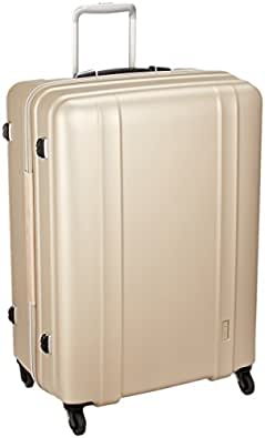 [シフレ] ジッパーハードスーツケース 超軽量 ゼログラ ZEROGRA ZER2088 66cm 保証付 105L 66cm 3.6kg ZER2088-66 マットゴールド マットゴールド