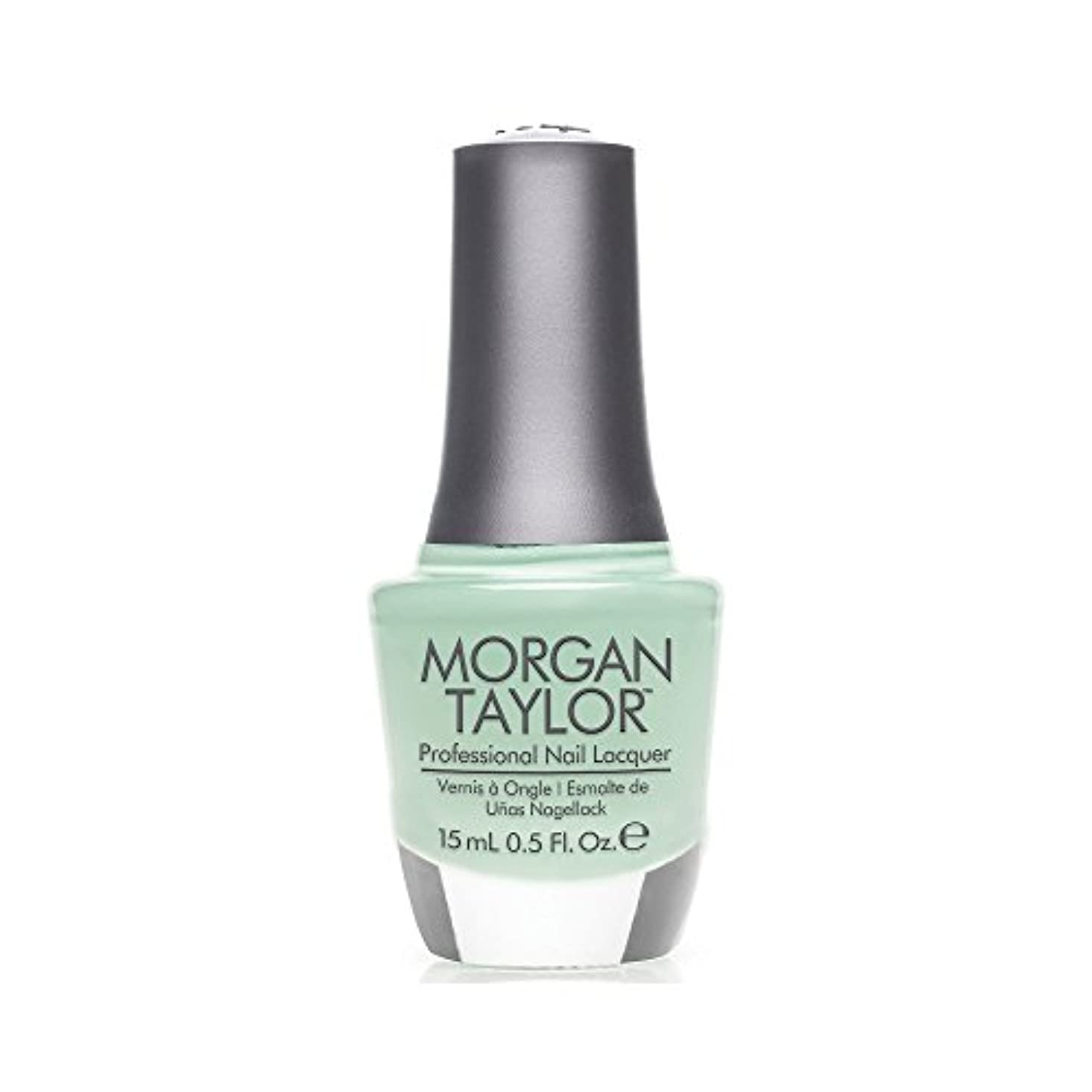 打たれたトラックロック解除山積みのMorgan Taylor - Professional Nail Lacquer - Mint Chocolate Chip - 15 mL / 0.5oz