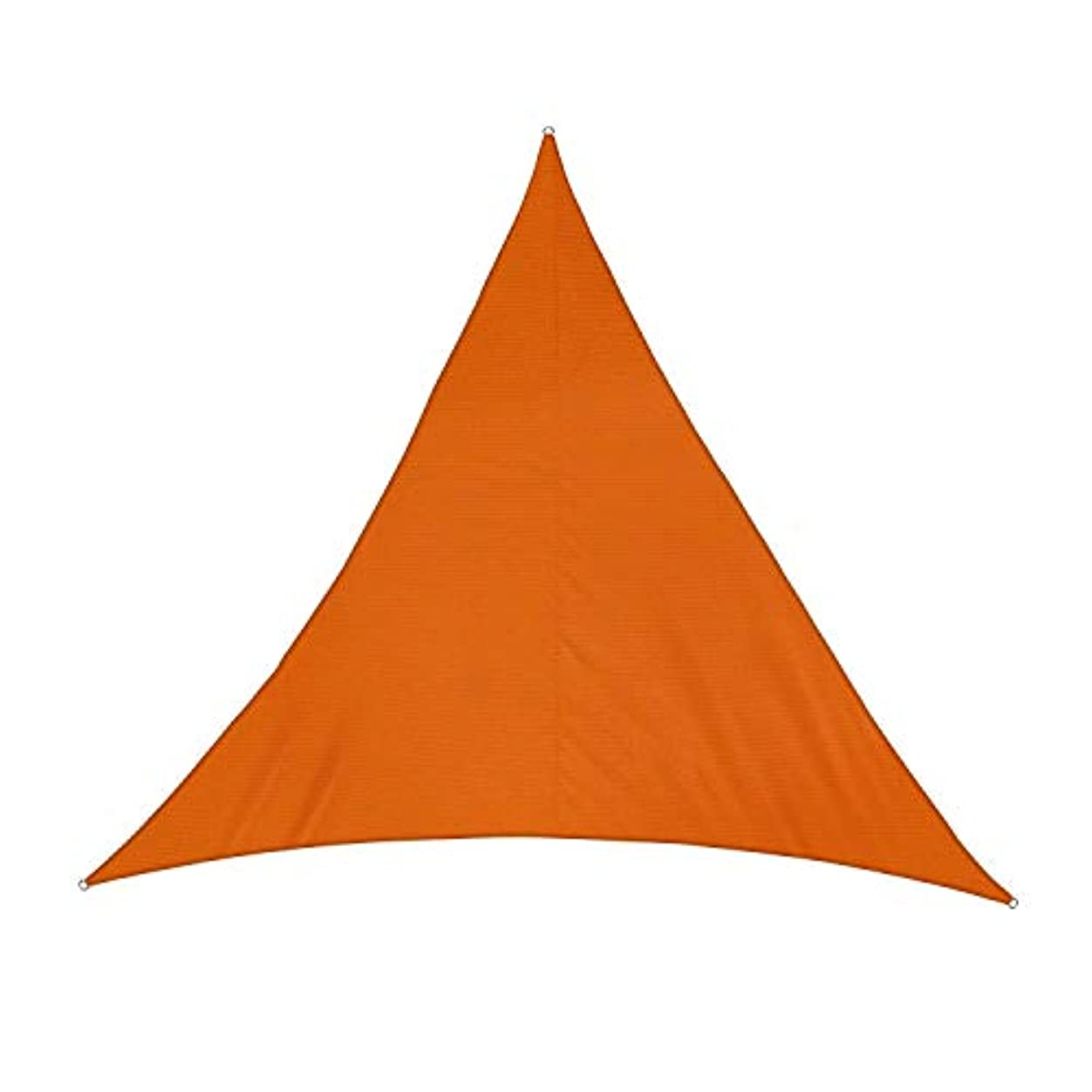 試験とげのあるお願いしますZHANWEI 屋外の オーニング シェード遮光ネット シェードセイル ポリエステル布 防水 三角形、 3色、 カスタマイズ可能なサイズ (Color : Orange, Size : 2x2x2M)