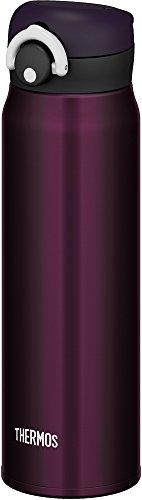 サーモス 水筒 真空断熱ケータイマグ 【ワンタッチオープンタイプ】 600ml ミッドナイトブラック JNR-600 M-BK