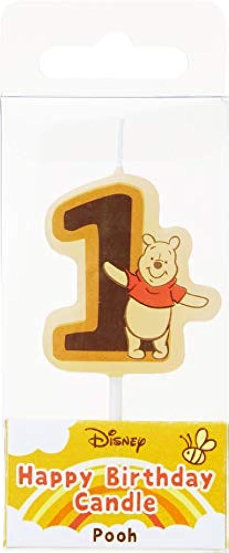 パラダイス舌最愛のカメヤマキャンドルハウス ディズニー ハッピーバースデーキャンドル プー 1