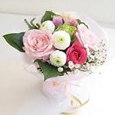 スウィートローズスタンディングブーケ ピンク【花束 生花】【お祝い・記念日・誕生日・フラワーギフト・バラ】