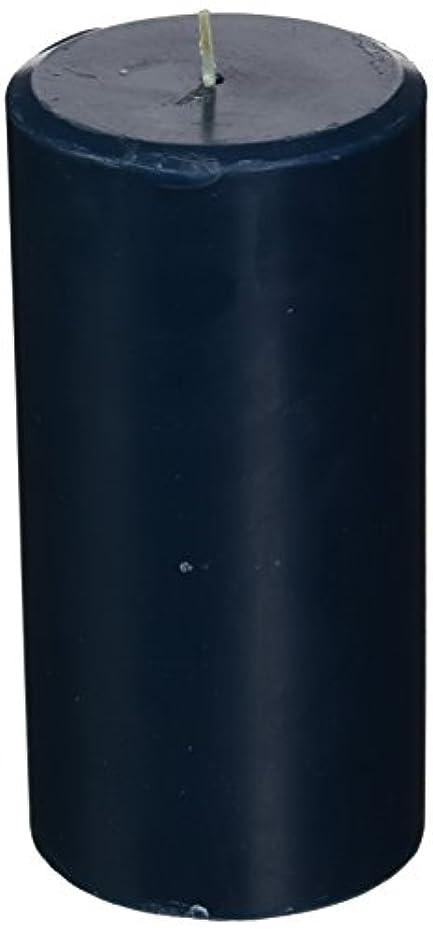 表面聞きます縞模様のNorthern Lights Candles Sea Salt &海藻FragranceパレットPillar Candle、3 x 6
