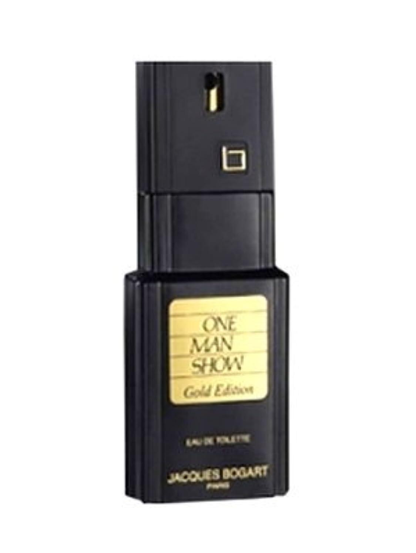 前文否認する内訳One Man Show Gold Edition (ワンマンショー ゴールデンエディション) 3.3 oz (100ml) EDT Spray by Jacques Bogart for Men