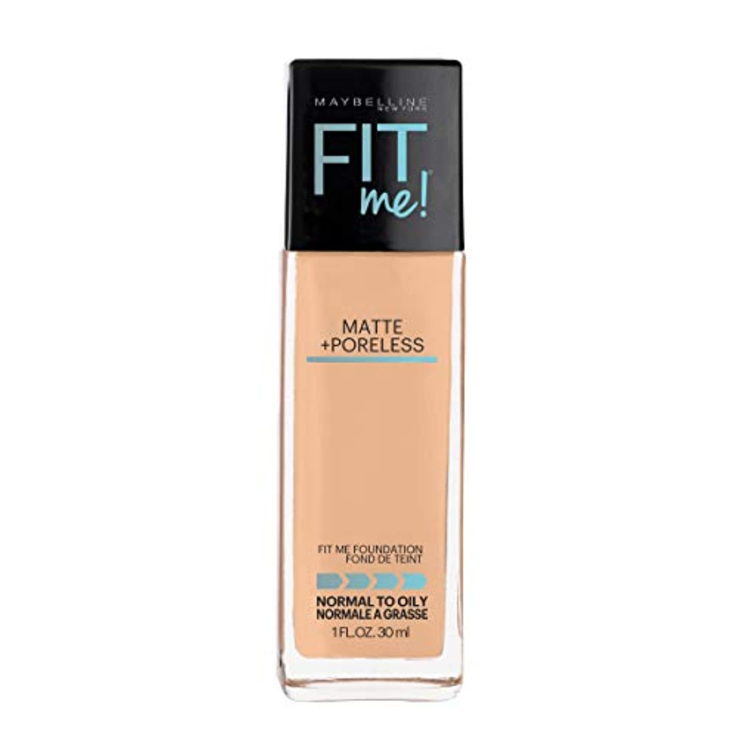 発明する置換バブルMAYBELLINE Fit Me! Matte + Poreless Foundation - Natural Beige 220 (並行輸入品)