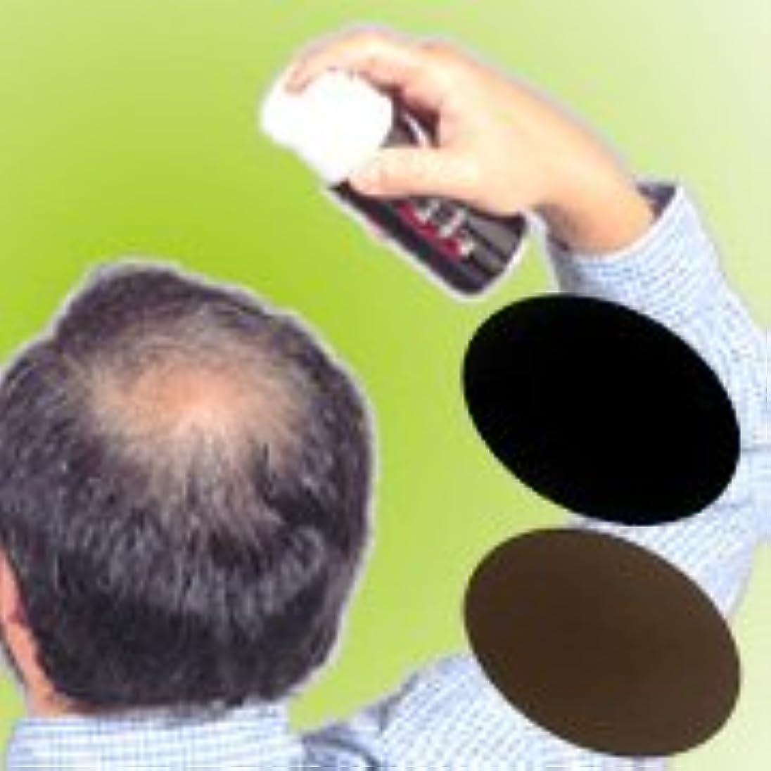 薄毛?白髪をワンタッチで隠します!男女兼用タイプの増毛スプレー!!【トミーリッチ ブラックヘアー】 (こちらの商品の内訳は『18000100_ブラック<数量12単位>』のみ)
