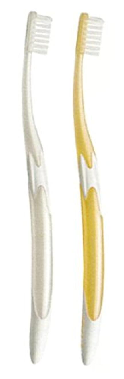 計器繁栄半島ジーシー GC ルシェロ W-10 歯ブラシ 6本 ( パールホワイト3本?パールゴールド3本 )