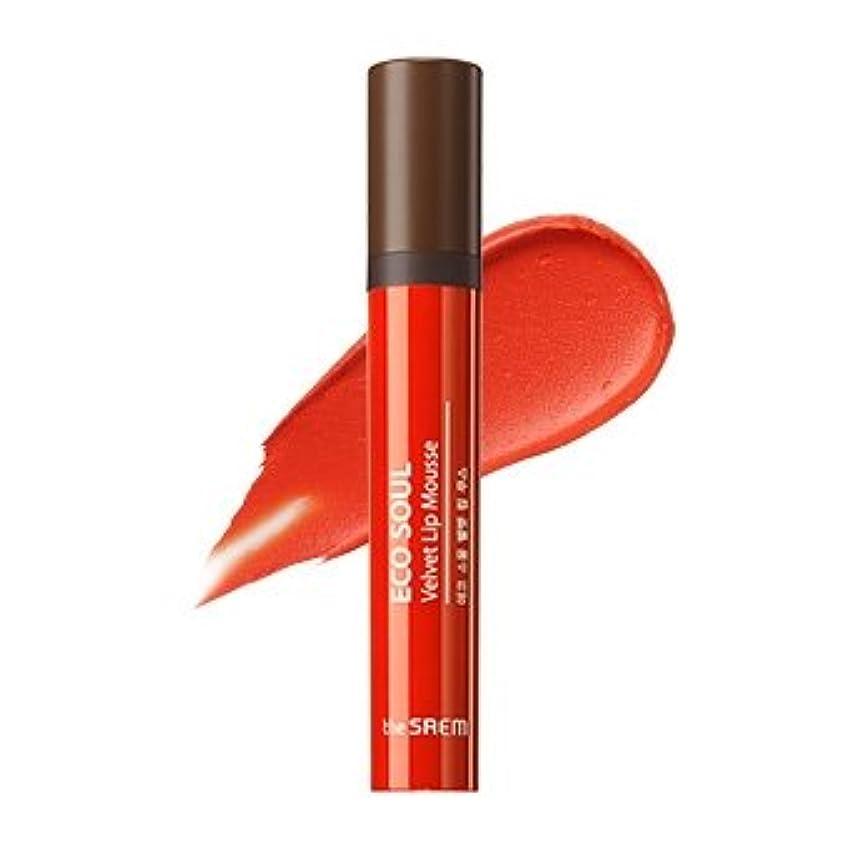 確執後ろに速度the SAEM Eco Soul Velvet Lip Mousse 5.5g/ザセム エコ ソウル ベルベット リップ ムース 5.5g (#OR01 Persimmon Dream) [並行輸入品]