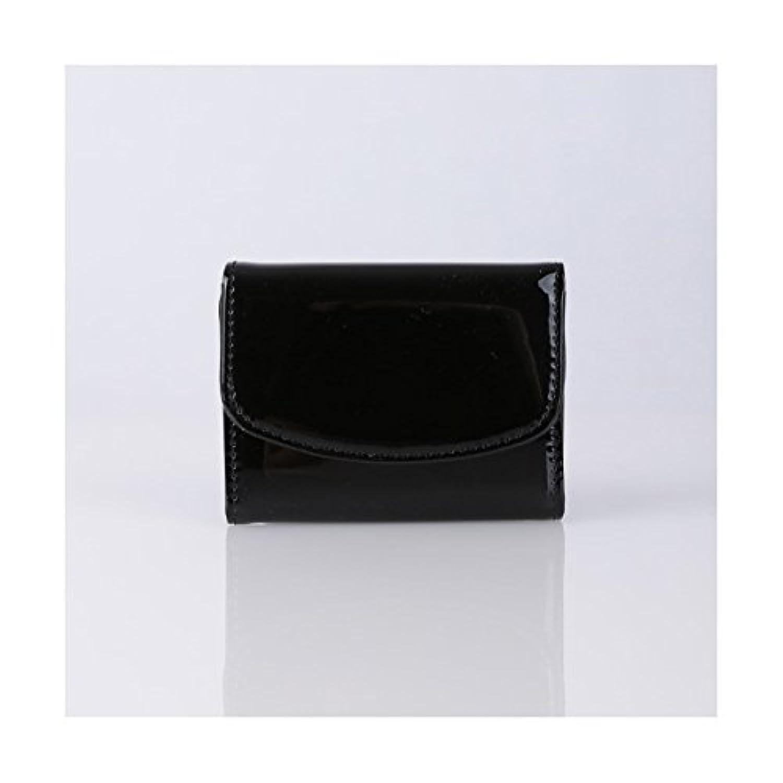 エルリエ(ellerie) エナメルコンパクトミニ財布