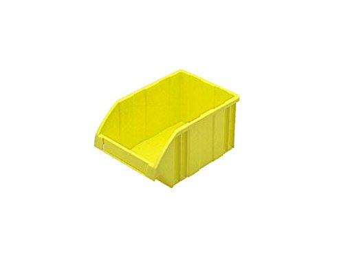 DICプラスチック DIC B型コンテナ 外寸:W197×D130×H90 黄 B-1 Y 1個 500-4705