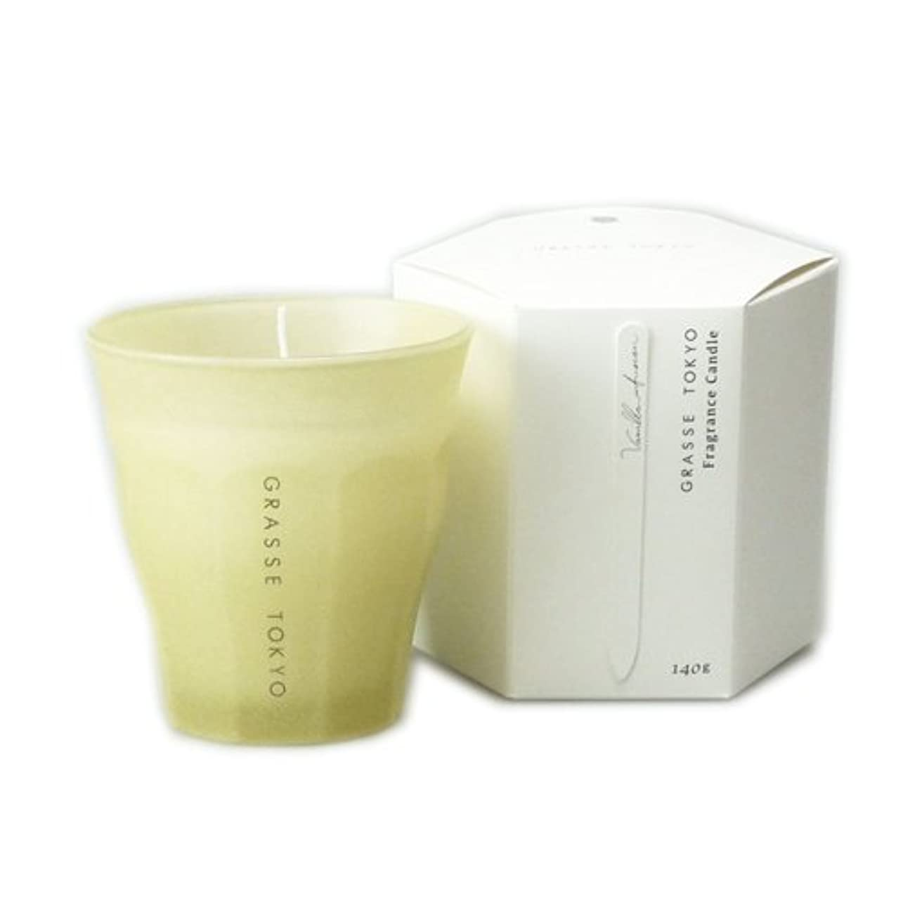 ラジウム反論ビジターグラーストウキョウ フレグランスキャンドル Vanilla infusion 140g