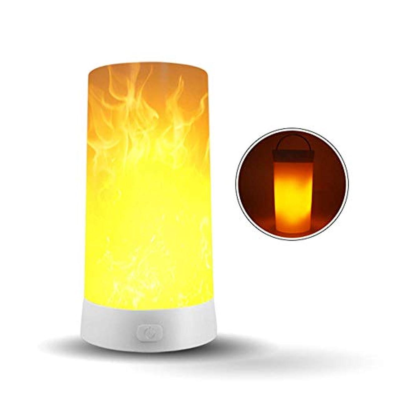 対処やりがいのある退却LEDフレームライト、屋内屋外LEDフレームエフェクトライト、逆さまの効果、充電式フレームランプ装飾ライトホームパーティーキャンプホテルバーのナイトライト led 炎 ledキャンドル 充電式 ledライト キャンドル...