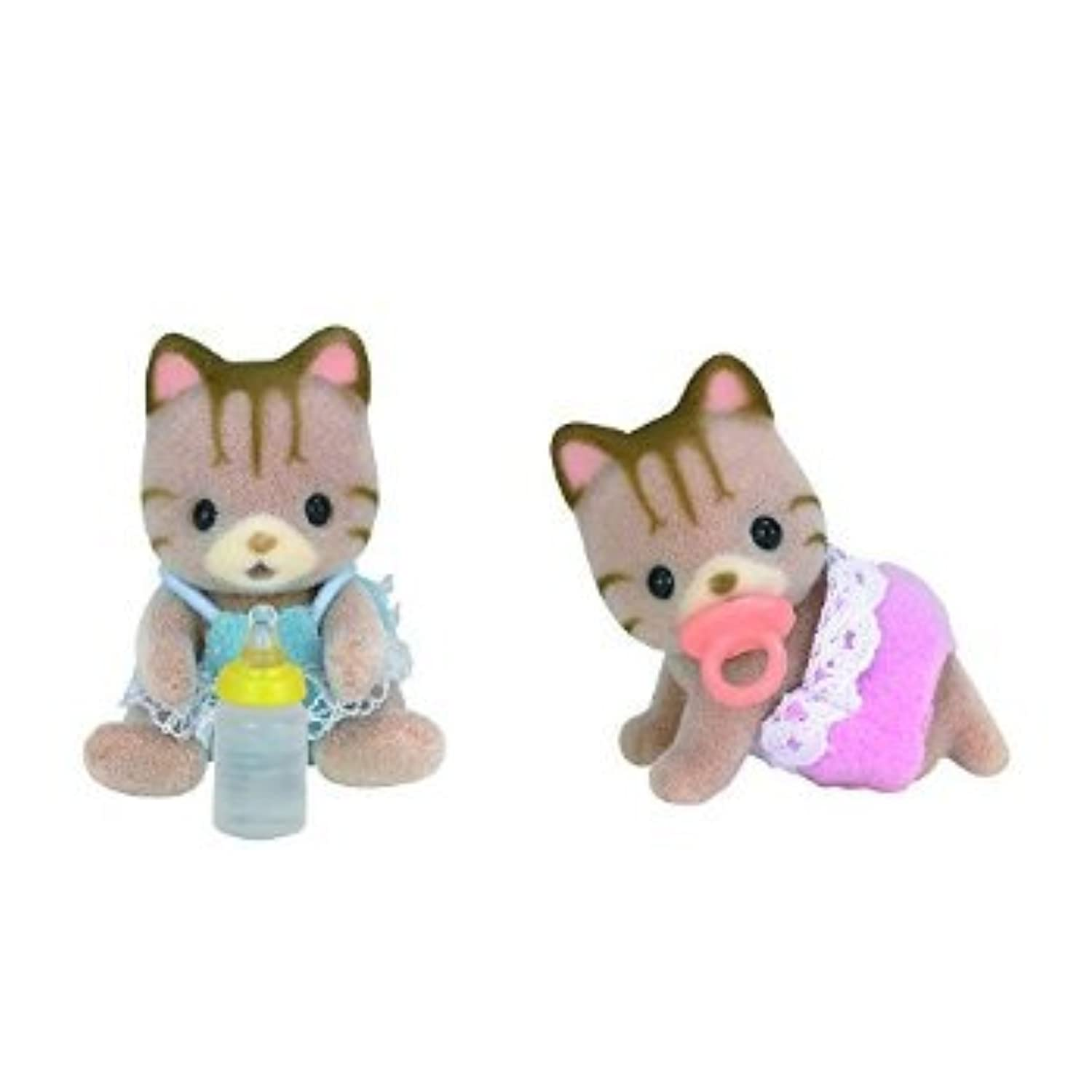 Calico Critters Sandy Cat Twins Doll おもちゃ [並行輸入品]