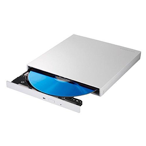 I-O DATA Blu-ray ブルーレイ BDドライブ mac 外付け ポータブル USB3.0/バスパワー対応 薄型モデル EX-BD03W