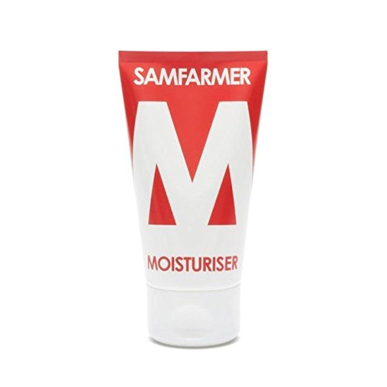 ビン鎖巨大なユニセックス保湿50ミリリットル x4 - SAMFARMER Unisex Moisturiser 50ml (Pack of 4) [並行輸入品]