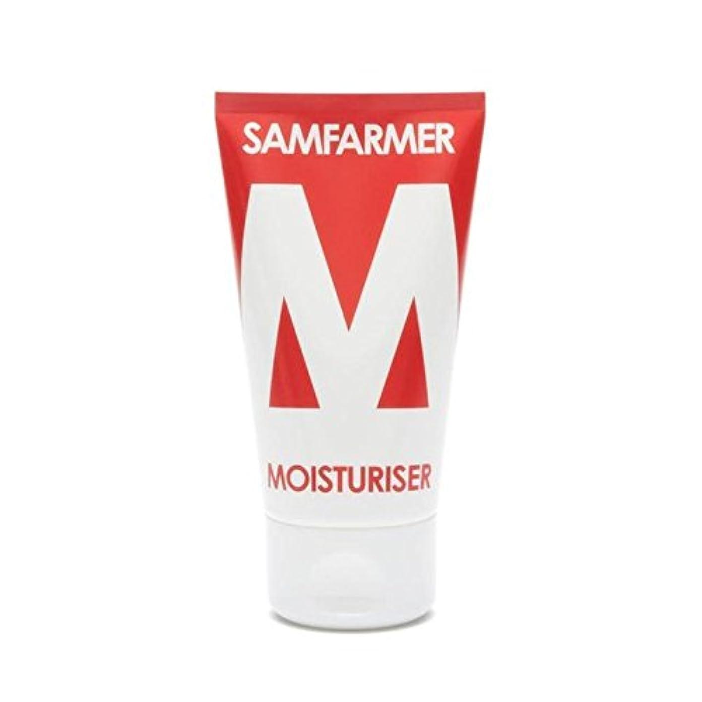 側辞任貨物ユニセックス保湿50ミリリットル x4 - SAMFARMER Unisex Moisturiser 50ml (Pack of 4) [並行輸入品]