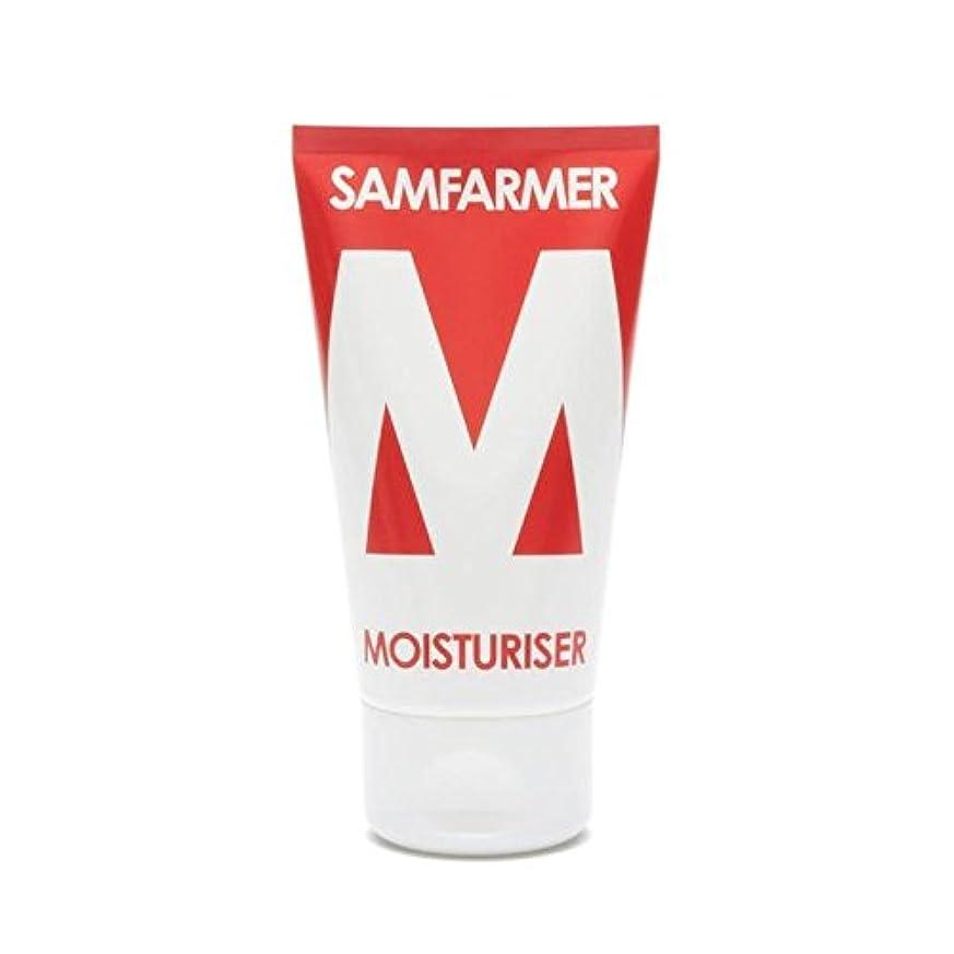 繊維百科事典領事館ユニセックス保湿50ミリリットル x4 - SAMFARMER Unisex Moisturiser 50ml (Pack of 4) [並行輸入品]
