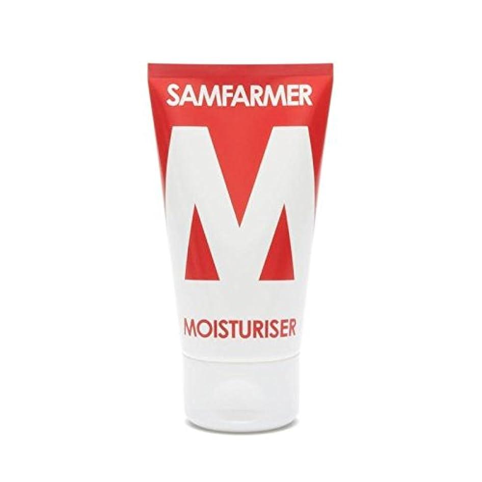 マウンドシーサイド埋め込むユニセックス保湿50ミリリットル x2 - SAMFARMER Unisex Moisturiser 50ml (Pack of 2) [並行輸入品]