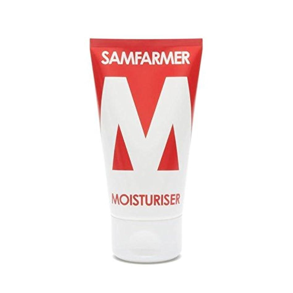 プリーツシンボル受け取るユニセックス保湿50ミリリットル x2 - SAMFARMER Unisex Moisturiser 50ml (Pack of 2) [並行輸入品]