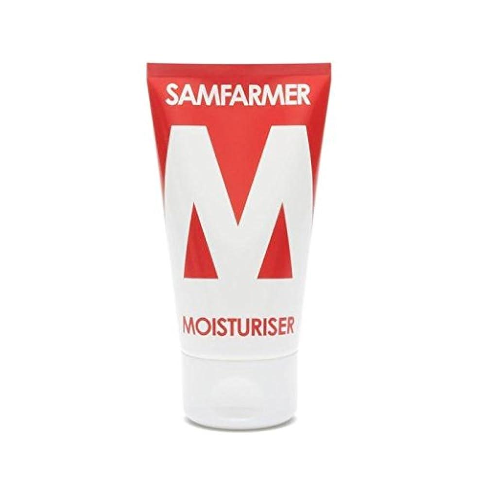 望ましい性差別振る舞うユニセックス保湿50ミリリットル x2 - SAMFARMER Unisex Moisturiser 50ml (Pack of 2) [並行輸入品]