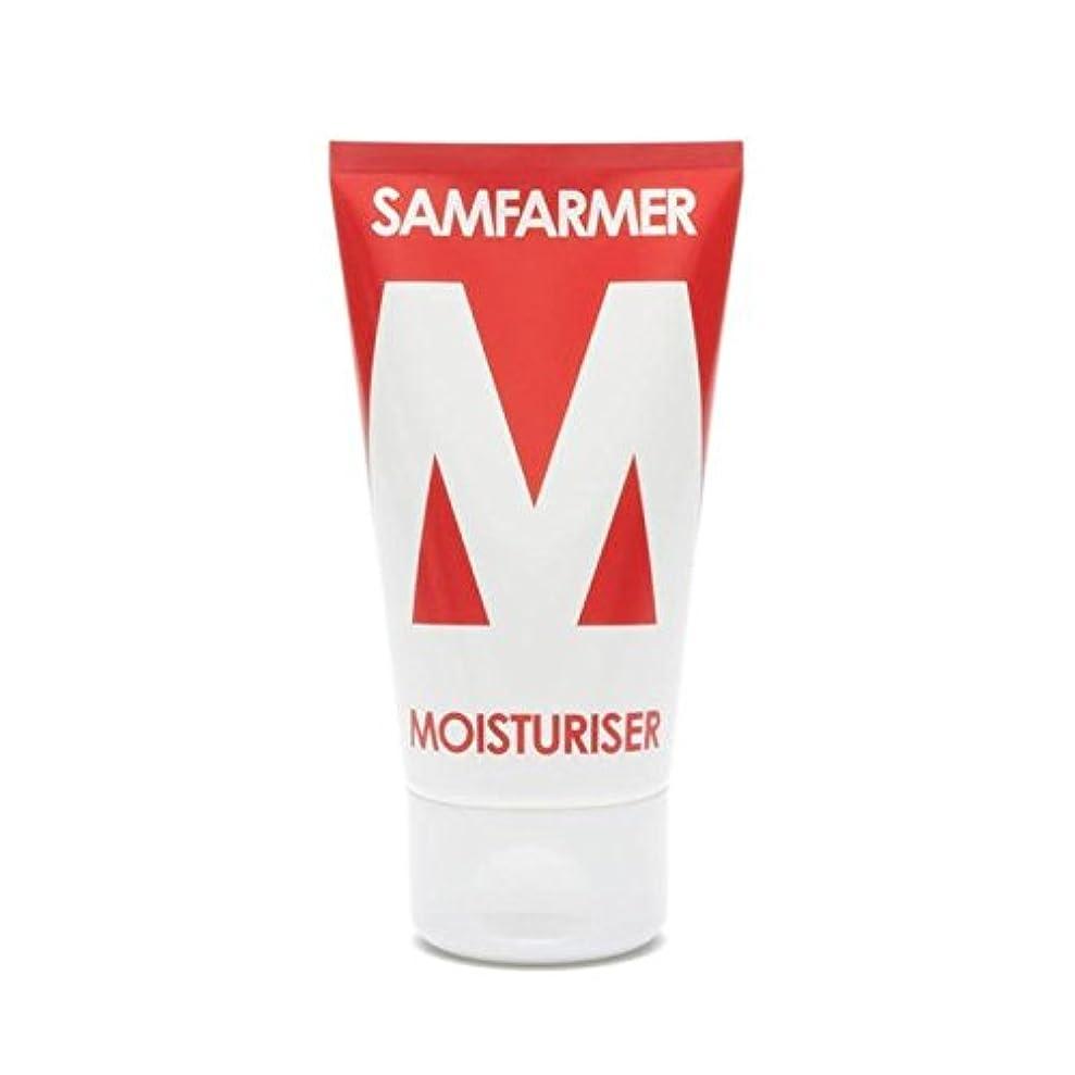精査するシャイ分ユニセックス保湿50ミリリットル x4 - SAMFARMER Unisex Moisturiser 50ml (Pack of 4) [並行輸入品]