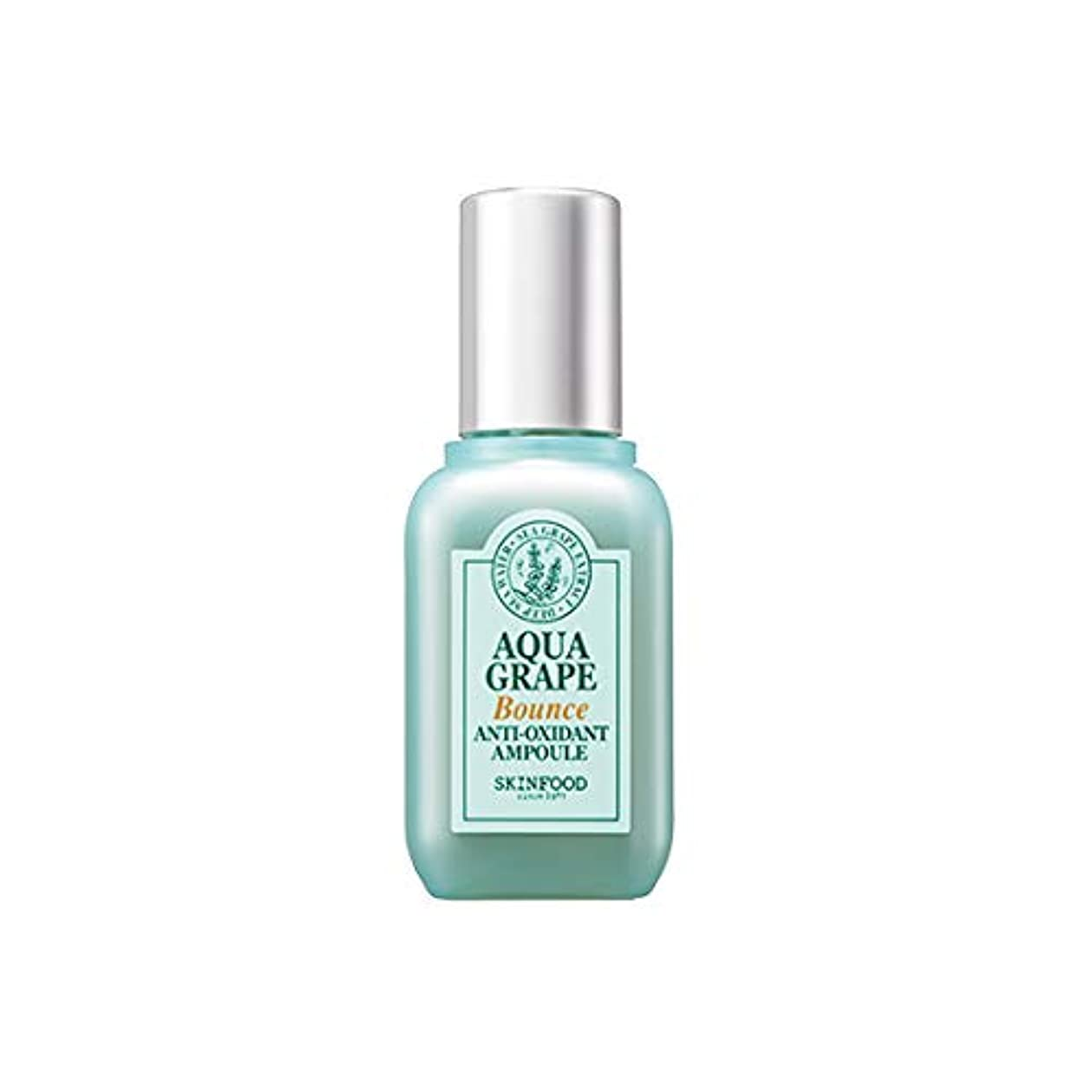 透過性質素な賃金Skinfood Aqua Grape Bounce Anti Oxidant Ampoule/アクアグレープバウンスアンチオキシダントアンプル/55g [並行輸入品]