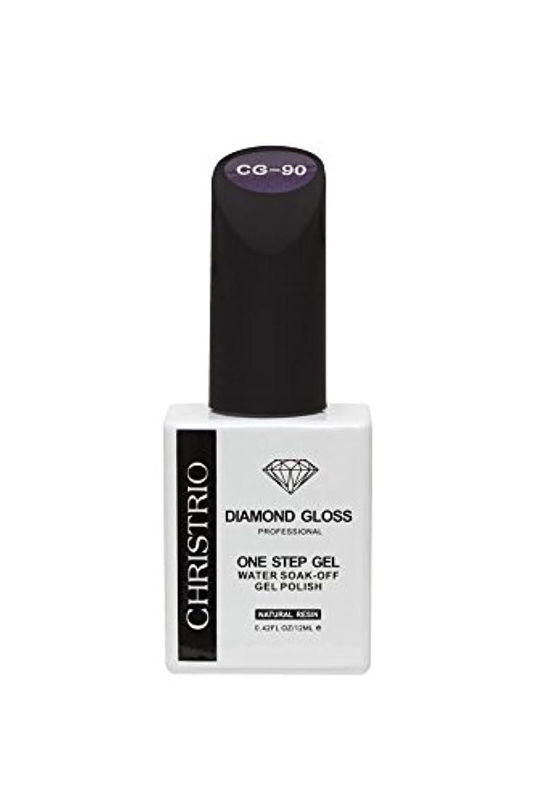 購入箱陰気CHRISTRIO DIAMOND GLOSS 12ml CG-90