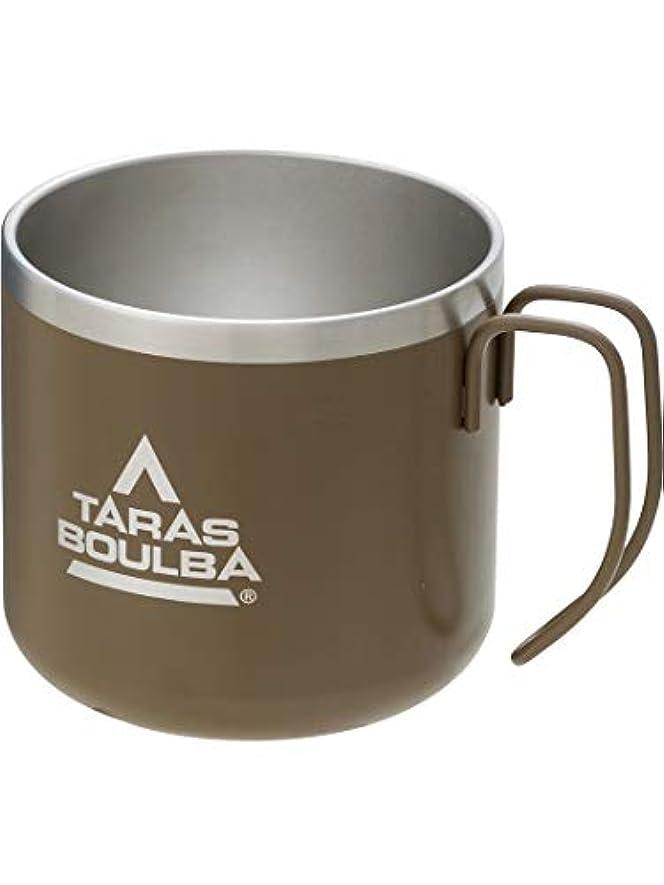 外出大声で残酷(タラスブルバ) TARAS BOULBA TB ダブルステンレスマグカップ 350 カーキ