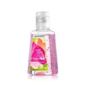バス&ボディワークス ハンドジェル 29ml  Bath&Body Works Anti-Bacterial PocketBac Sanitizing Hand Gel Sweet Pea  スイトピー[並行輸入品]