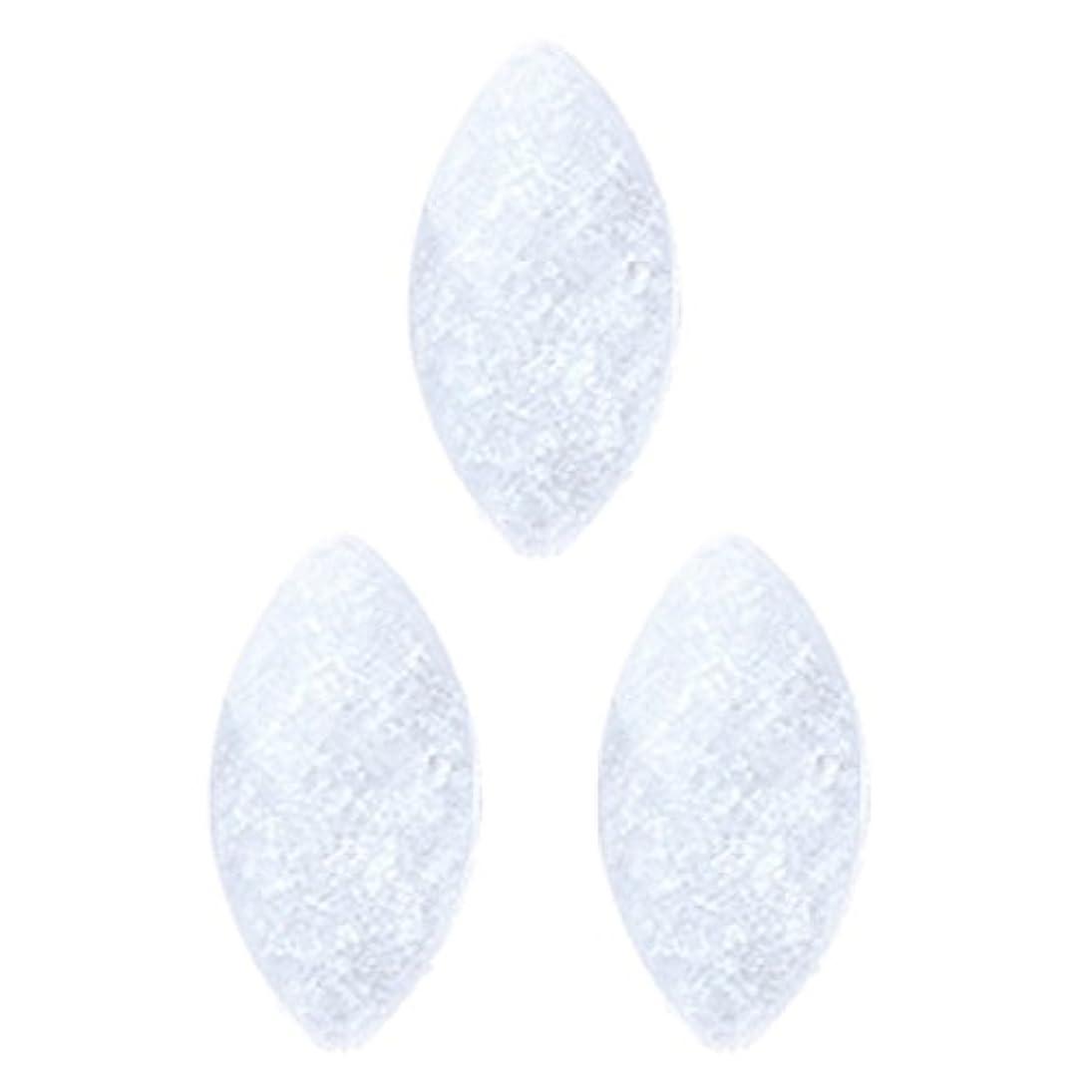 先祖機会動詞<エトゥベラ>シャイニーストーン リーフ4×8mm(各30個) ホワイト