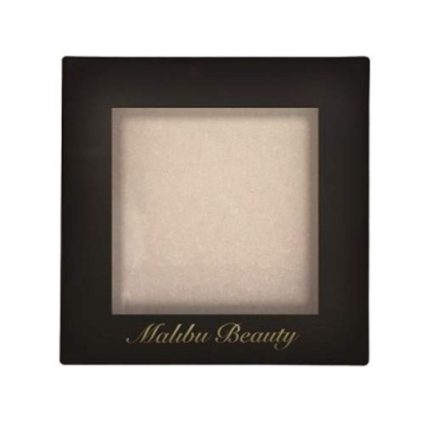 不屈教育者裸マリブビューティー シングルアイシャドウ ベースカラーコレクション シア―ホワイト MBBA-01 1.6g