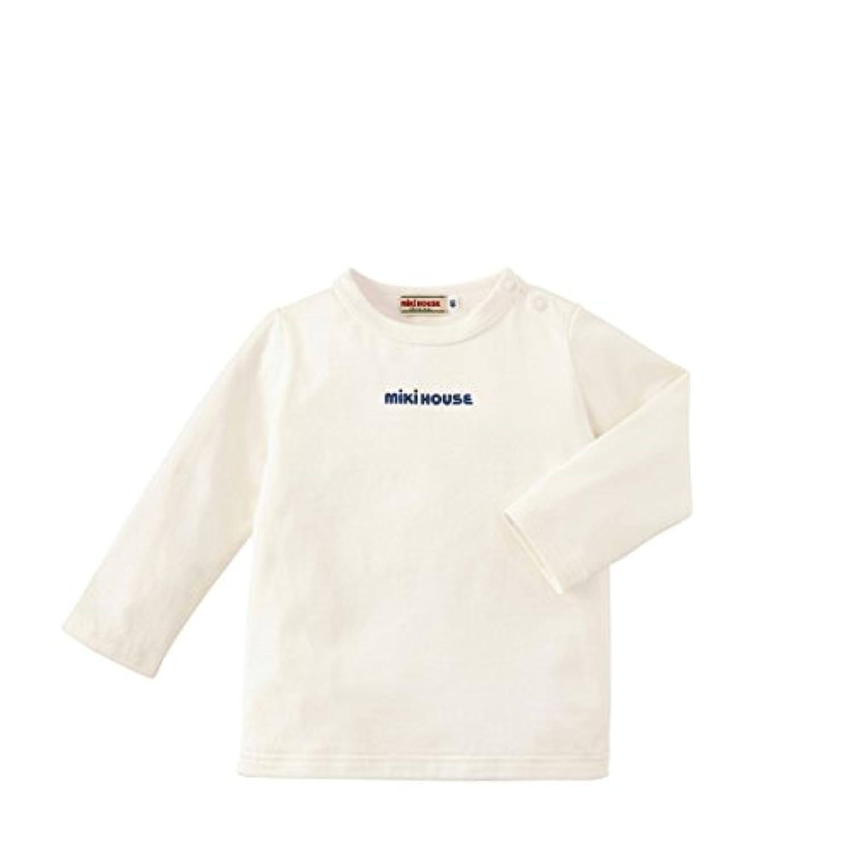 ミキハウス (MIKIHOUSE) Tシャツ 13-5210-611 70cm 白