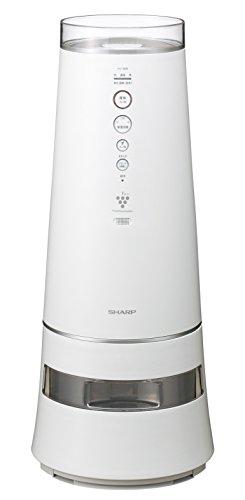 SHARP 加湿機 除菌イオン搭載 ~22畳 780mL/h ホワイト系 HV-800-W