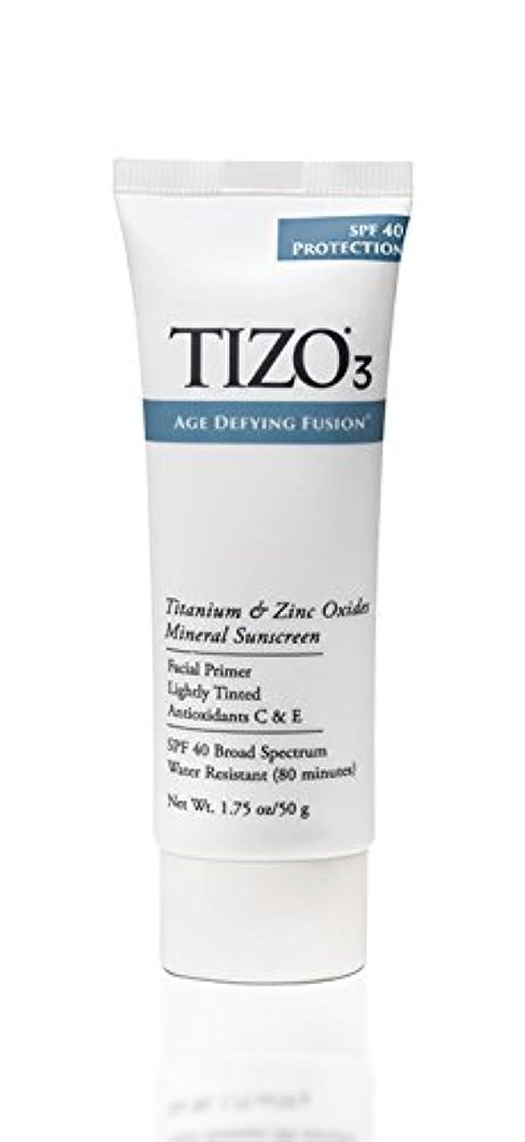 有力者コミュニケーション解読するTizo 3 Facial Mineral Sunscreen Tinted SPF40 50ml