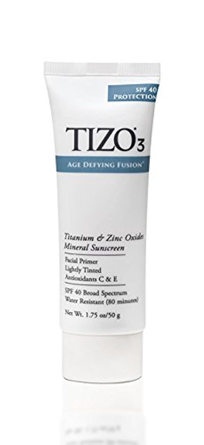 勢い出演者タイマーTizo 3 Facial Mineral Sunscreen Tinted SPF40 50ml